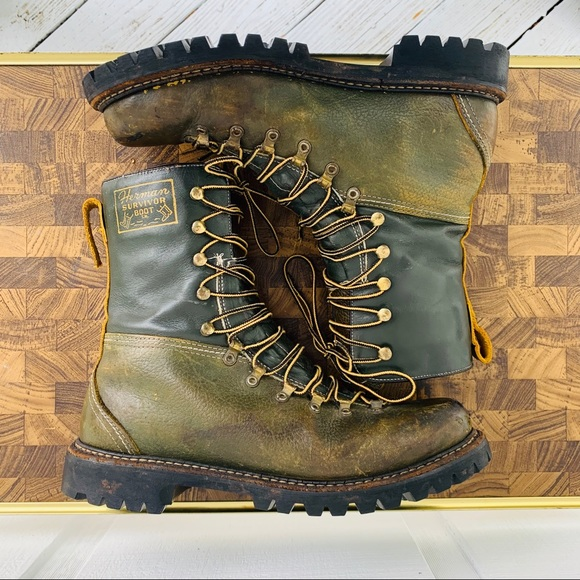Vintage Other - 60/70's Era Herman Survivor Boots. Rare Size 11.